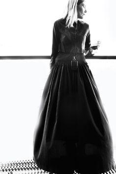 Stylist Minttu Vesala wearing Samuji SS11 skirt and dress | Photo Stella Harasek