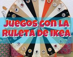 RECOPILATORIO DE JUEGOS CON LA RULETA DE IKEA Ikea, Free Frames, Teaching English, Classroom Management, Homeschool, Education, Math, Play, Toys