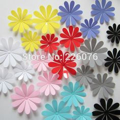 Cheap Wall Stickers, Buy Directly from China Suppliers: Model: H-008;Color: Mirror,Yellow,Sky Blue,Purple Blue,Pink,Gray,Black,White,Red;1 set = 12pieces;
