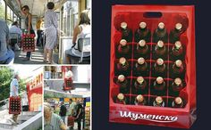 הפטריה | 30 שקיות קניות יצירתיות ומבריקות שחושבות מחוץ לקופסא (תמונות)