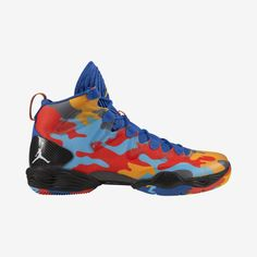 new product 50dd8 f314c These are the new Nike Air Jordan SE OKC Camo basketball shoes.