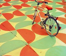 Inspiring picture 70s, aww, beautiful, bicycle, color. Resolution: 900x900 px. Find the picture to your taste!