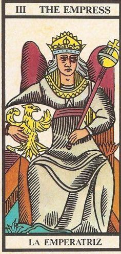 Arcano III - A Imperatriz Carta Tarot de 20 a 23 de Novembro Nos próximos dias a tendência é para boas energias, avanços e o atingir de pequenas metas. Pla