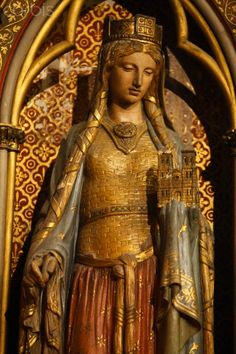Saint Clotilde | Sainte Clotilde statue in Sainte Clotilde church, Paris - 42-25274420 ...