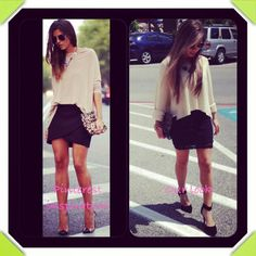 Apricot Lane Boutique- San Antonio #croppedsweater #oatmeal #lbd #lace #heels #fall