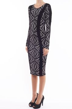 DESTINY KJOLE all over print dress - http://www.cremefraiche.dk/