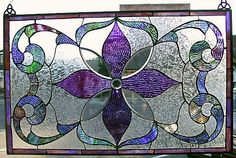 Victorian Style Stained Glass.