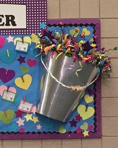 Bucket Filler Bulletin Board Hull Elemetary.