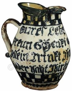 Old Pottery, Wine Bottles, Earthenware, Folk Art, Black And White, Country, Glass, Beautiful, Museums