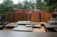 Ira Keller Fountain. Portland. Lawrence Halprin.