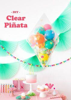 DIY Clear Pinata | Oh Happy Day! | Bloglovin'
