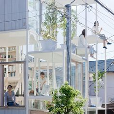 """""""House like a single tree. To dwell in a house, amongst the dense urbanity of small houses and structures can be associated to living within a tree. Tree has many branches, all being a setting for a place, and a source of activities of diverse scales."""""""