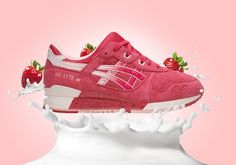Sneakers Asics Gel Lyte III « Strawberries & Cream » « Timodelle