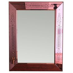Mirror by Max Ingrand | From a unique collection of antique and modern wall mirrors at https://www.1stdibs.com/furniture/mirrors/wall-mirrors/