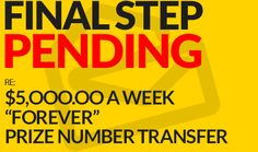 final step pending re Instant Win Sweepstakes, Online Sweepstakes, Pyramid Solitaire, Pch Dream Home, Lotto Winning Numbers, Win For Life, Winner Announcement, Lottery Winner, Michael Collins