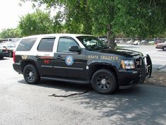 Police Truck, Police Cars, Police Vehicles, Emergency Vehicles, Chevrolet Tahoe, Chevy, Radios, State Law, State Police