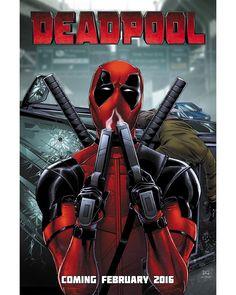 """""""Winter fresh. #DeadpoolCore"""""""