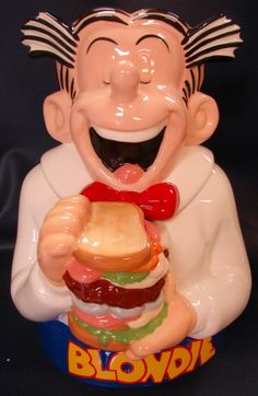 Dagwood Cookie Jar Learn about your collectibles, antiques, valuables, and vintage items from licensed appraisers, auctioneers, and experts. http://www.bluevaultsecure.com/roadshow-events.php BlueVault. For anything Valuable.