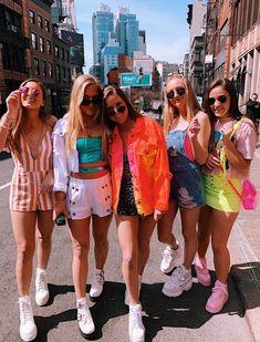 VSCO - fatmoodz Photos Bff, Best Friend Photos, Best Friend Goals, Friend Pics, Bff Pics, Summer Outfits, Cute Outfits, Neon Party Outfits, Best Friend Photography