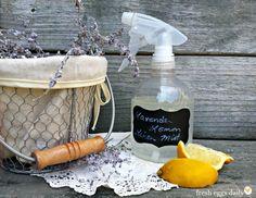 Lavender Lemon Linen Mist | Fresh Eggs Daily®