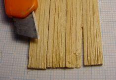 Alterung und Verwitterung von Holz im Modell