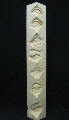 Irishman Carvings - Study Stick