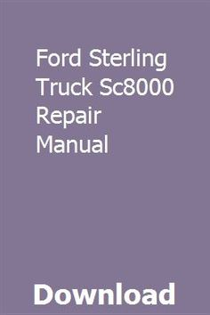 35 Best STERLING TRUCKS images in 2019 | Sterling trucks ... A Sterling Wiring Diagram on