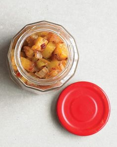 Grilled Peach Relish (Paleo if Olive/Coconut oil is used and sugar is excluded. Can use honey if sweetener is needed.)