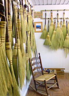 Ogle's Broom Shop. Gatlinburg, TN.