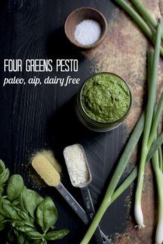 Four Greens AIP Pesto