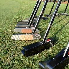 Tour Bag putters from Wyndham Championships.