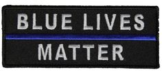 BLUE LIVES MATTER PATCH BLUE LIVES MATTER PATCH [5070CP] - $5.00 : Hat n Patch, Military Hats, Patches, Pins and more