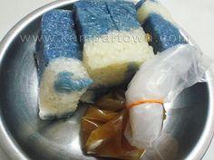 金宝蓝花糕 / Kampar Blue Glutinous Rice @ Kampar, Perak, Malaysia