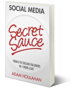 Say #congrats to @Adam Houlahan   for his great #book #amazon Social Media Secret Sauce the book