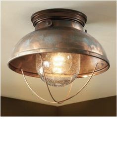 Cabelas Canada - Home & Cottage - Lighting - Grand River Lodge Fisherman's Ceiling Light