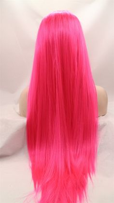 Hiqh quality glueless pink lace front wig cosplay wig straight for party new arrive-in Synthetic Wigs from Health & Beauty on Aliexpress.com | Alibaba Group
