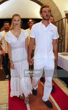 News Photo : Pierre Casiraghi and wife Beatrice Borromeo...