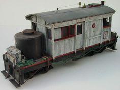 Gordon Birrell Garden Railroad, N Scale Trains, Miniature Rooms, Rolling Stock, Model Train Layouts, Diesel Locomotive, Train Tracks, Model Building, Model Trains