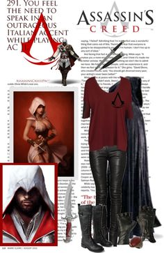 """""""Assassin's Creed"""" by roxy2 ❤ liked on Polyvore"""