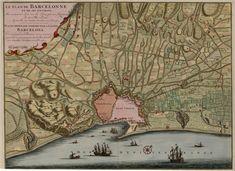 Plànol de Barcelona del 1706, de Nicolaes Visscher