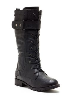 Keen Women Lace-Up Combat Boot by Carrini on @HauteLook