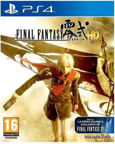 Final Fantasy Type 0 Sony Playstation 4 prix promo Jeux Vidéo Amazon 58,99 € - Final Fantasy Type 0 est un jeu typique de la saga, qui vous invite dans un monde immersif, peuplé de personnages mémorables. Découvrez une histoire envoûtante digne des FINAL FANTASY, servie par un excellent système de jeu