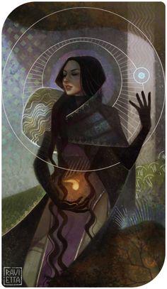 Farris - High Priestess by Ravietta.deviantart.com on @DeviantArt