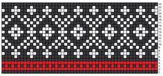 Fair Isle Knitting Patterns, Knitting Charts, Knitting Stitches, Knitting Socks, Knit Patterns, Stitch Patterns, Tejido Fair Isle, Diy Crafts Knitting, Cross Stitch Pattern Maker