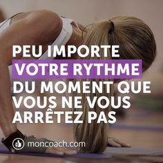 Chaque début est difficile, restez courageux et positif. http://blog.moncoach.com/le-yoga-peut-il-remplacer-musculation/ #inspiration #strong