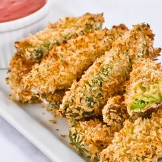 . Baked Avocado Fries Recipe from Grandmothers Kitchen.