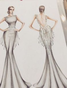 22 ideas fashion sketches dresses couture gowns for 2019 couture dresses Fashion gowns ideas sketches new Dress Design Drawing, Dress Design Sketches, Fashion Design Drawings, Dress Drawing, Fashion Design Sketchbook, Fashion Sketches, Drawing Sketches, Doodle Sketch, Sketching