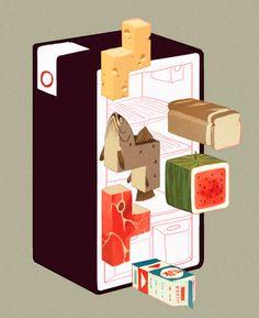 fridge tetris / sachin teng