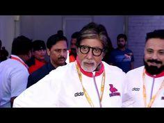 Amitabh Bachchan & Jaya Bachchan at Pro Kabbadi league 2016 opening ceremony.https://youtu.be/9FQsLgjr4_U