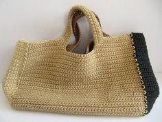 Crochet handbag by Daniela Gregis - no pattern, the bag is for sale